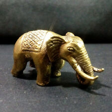 Power animal Elephant Figurine Miniature Cute Thai amulet Lucky Wealth Rich NAH