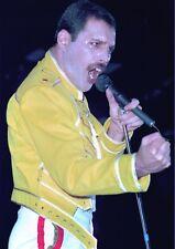 FREDDIE MERCURY QUEEN PHOTO 1984 UNIQUE CLOSE UP UNRELEASED HUGE 12 INCH COLOUR