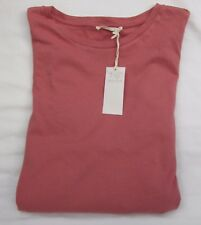 LADIES MARKS AND SPENCER PINK TOP WITH 3/4 BELL BOTTOM SLEEVES SIZE 20
