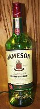 750 ml Jameson Whiskey Empty Liquor Bottle Night Light Lamp Man Cave Bar Office