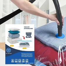 20 Pack Jumbo Extra Large Vacuum Seal Zipper Space Saver Big Storage Ziplock Bag
