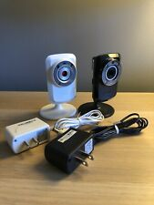 Two D-Link Day & Night WiFi Cloud Cameras (DCS-932L and DCS934-L)