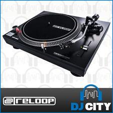 Reloop RP-1000mk2 Vinyl DJ Turntable Record Player w/ 2 Speeds & Cartridge