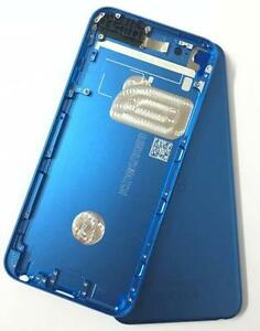Back Rear Metal Housing Case Cover for iPod Touch 6th Gen 64GB(blue)