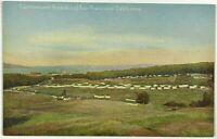 Cantonment Presidio Army Military Fort San Francisco California 1900's Postcard