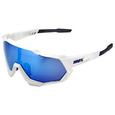 glasses 100% speedtrap Polished white HIPER ICE