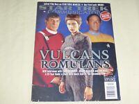 Star Trek Communicator Magazine 137 Vulcan Leonard Nimoy Jolene Blalock Tim Russ