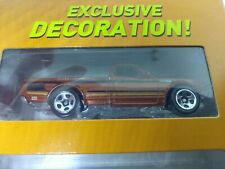 HTF 2016 HOT WHEELS 9 CAR  GIFT PACK EXCLUSIVE DECORATION BROWN DATSUN 620 TRUCK