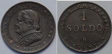 STATO PONTIFICIO - Pio IX - 1 Soldo 1867 XXI