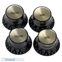 """1-11 Gold /""""Eleven/"""" Speedknobs for US//CTS Potis Set 4 fits Gibson®"""
