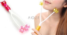 Cute Pink Pig Face Up Roller Massage Slimming Remove Chin Neck Massager Tool