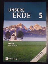 UNSERE  ERDE 5  Erdkunde  Schülerbuch   /  Schulbuch   2016  Oldenbourg   neu