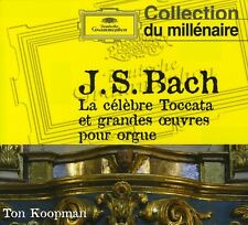 Ton Koopman, J.S. Ba - Bach J S: Toccata & Fugue in D minor [New CD] Digipack P