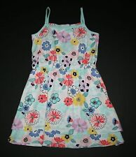 New Gymboree Floral Sleeveless Summer Sun Dress Size 7 year NWT Tropical Breeze