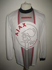 Ajax Amsterdam training Holland football shirt soccer jersey voetbal size L