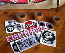 OLD SKOOL skate, surf stickers, die cut, aged effect, waterproof, superior. Rat.