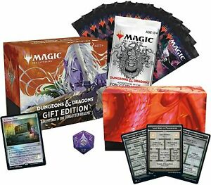 Adventures in the Forgotten Realms Gift Bundle / Fat Pack - MTG - Ships Now!
