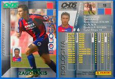 CALCIO CARDS 2005 PANINI - N. 15 - ZAGORAKIS - BOLOGNA - new
