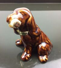 Cazanove Vintage Liquer Cherry Brandy Flask Sealed Spaniel Dog Bordeaux France