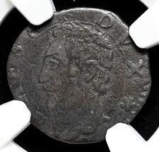 ITALY, Modena. Billon Sesino, 1597-1628, NGC VF20 BN