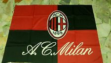 1 bandiera ufficiale Ac Milan 140x100 cm Bacca Balotelli Scacco official  flag