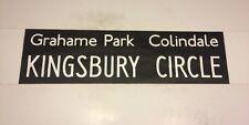 "Harrow Bus Blind 2 (33"")- Grahame Park Colindale Kingsbury Circle"