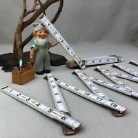 2 Wooden Folding Rulers Vintage Great Neck and Revere #26 ~ 6 feet/72 inches