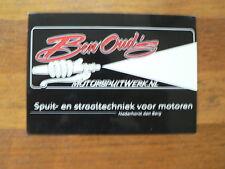BEN OUD'S MOTORSPUITWERK NEDERHORST DEN BERG