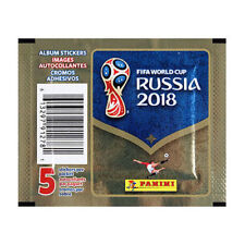 Panini FIFA World Cup Russia 2018 Stickers - 25 Packs (125 Stickers) New Sealed