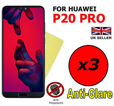 3x HQ MATTE ANTI GLARE SCREEN PROTECTOR COVER SAVER FILM FOR HUAWEI P20 PRO