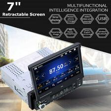"7"" Retractable Screen Car MP5 Player Udisk Radio Video BT Reversing image WIN-CE"