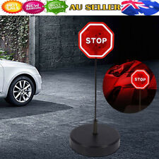 GARAGE PARK'N PLACE STOP SIGN LED FLASHING LIGHT CAR PARKING GUIDE/WARN AID KIT
