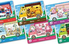 Animal Crossing New Horizons Saniro cards all 6