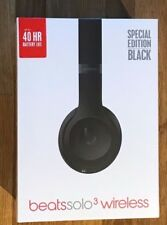 Beats By Dr Dre Solo3 WirelessHeadphones RRP£249- Matte Black