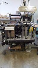 Heidelberg Windmill 10x15 Letterpress Platen Press.