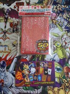 ♦️ Yu-gi-oh  50  Protège Carte Sleeve Millenium Rouge Red