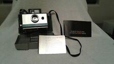 polaroid 210 land camera automatic w/flash gun 268 and box of flash bulbs