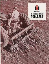 International Toolbars A30-2 A30-3 A30-4 GL-230 sales brochure