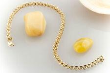 Schmuck Tennisarmband Klassisches Armband mit Brillanten In 750 Gold 18 Karat