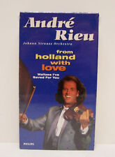 ANDRE RIEU,  FROM HOLLAND WITH LOVE, 1994 CONCERT, VHS