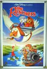 THE RESCUERS ROLLED ORIG 1SH MOVIE POSTER WALT DISNEY RR89 (1977)