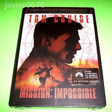 MISION IMPOSIBLE DVD NUEVO Y PRECINTADO EDICION STEELBOOK 2 DISCOS