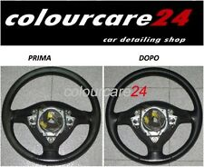 Kit Rinnova Colore Volante Pelle Mercedes NERO Ritocco Interni W 176 Classe a