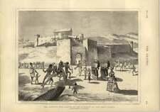 1873 Ashanti War Arrival Of The Governor At Cape Coast Castle