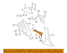Chevrolet GM OEM 05-08 Cobalt Interior-Sill Plate Right 15244544