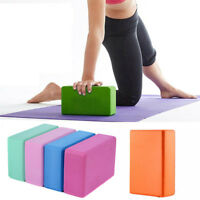 Home Pilates Yoga Block Foaming Foam Brick Exercise Fitness Stretching Aid Gym
