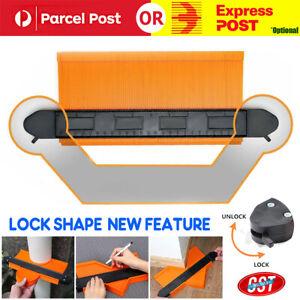 10'' Upgrade Contour Gauge Profile Tool Contour Duplicator ABS With 2 Lock Saker