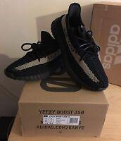 Adidas x Kanye West Yeezy Boost 350 V2 SPLY Green/Black UK9 US9.5 100%Authentic