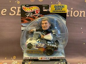 Hot Wheels Radical Rides Jeff Burton #99 Exide Diecast NASCAR 1999 NIP