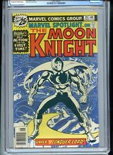 Marvel Spotlight #28 CGC 9.0 OWTW Pages 1st Solo Moon Knight